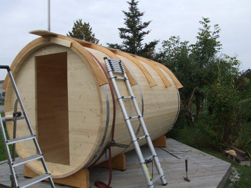 Dach-Montage